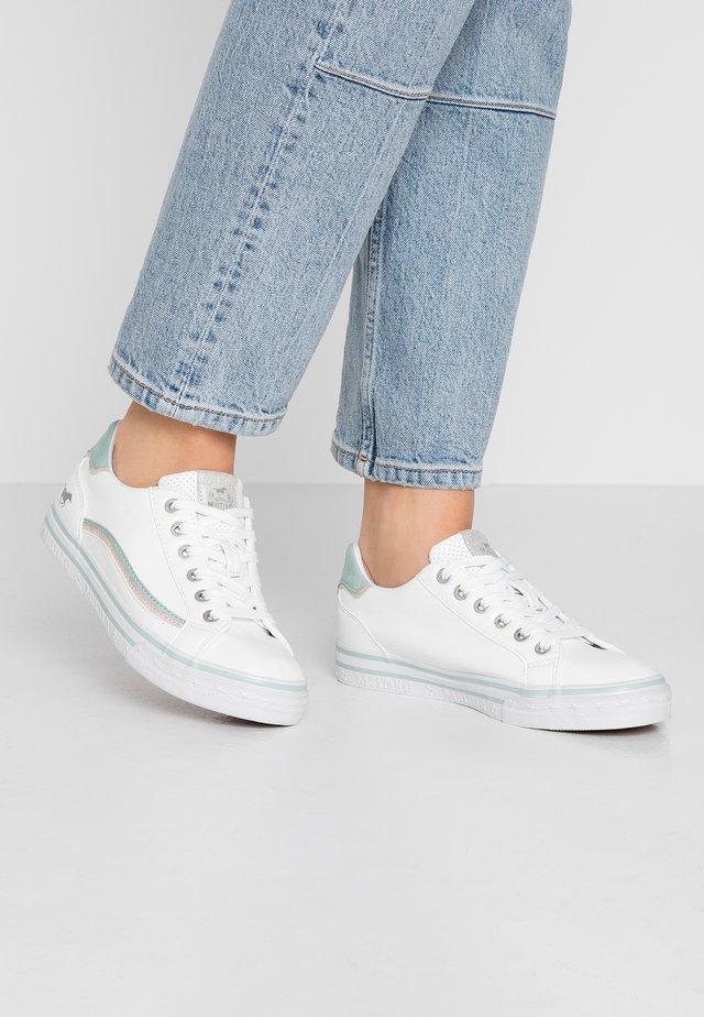 Sneakers - weiß/mint