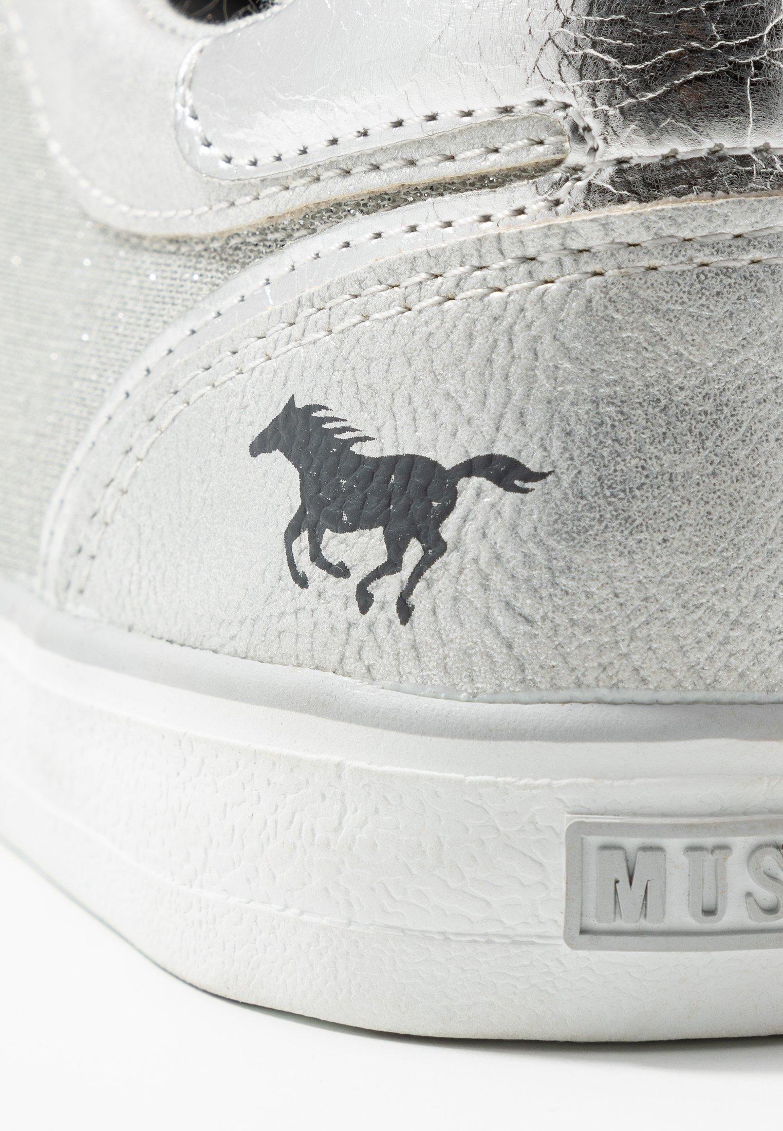 Mustang Sneaker low - silber - Black Friday