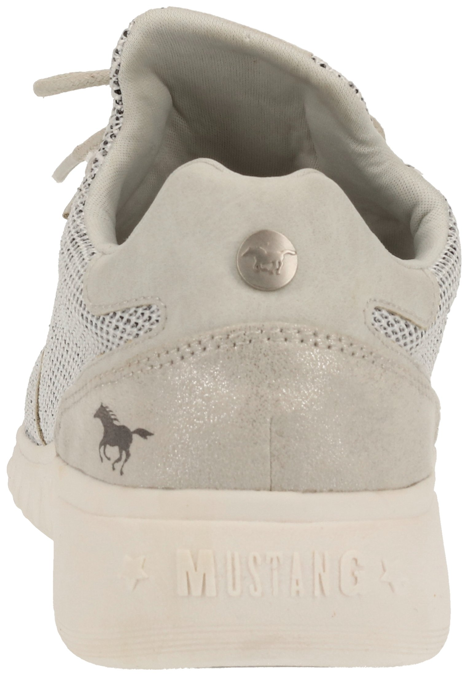 Mustang Baskets Basses - Light Gray