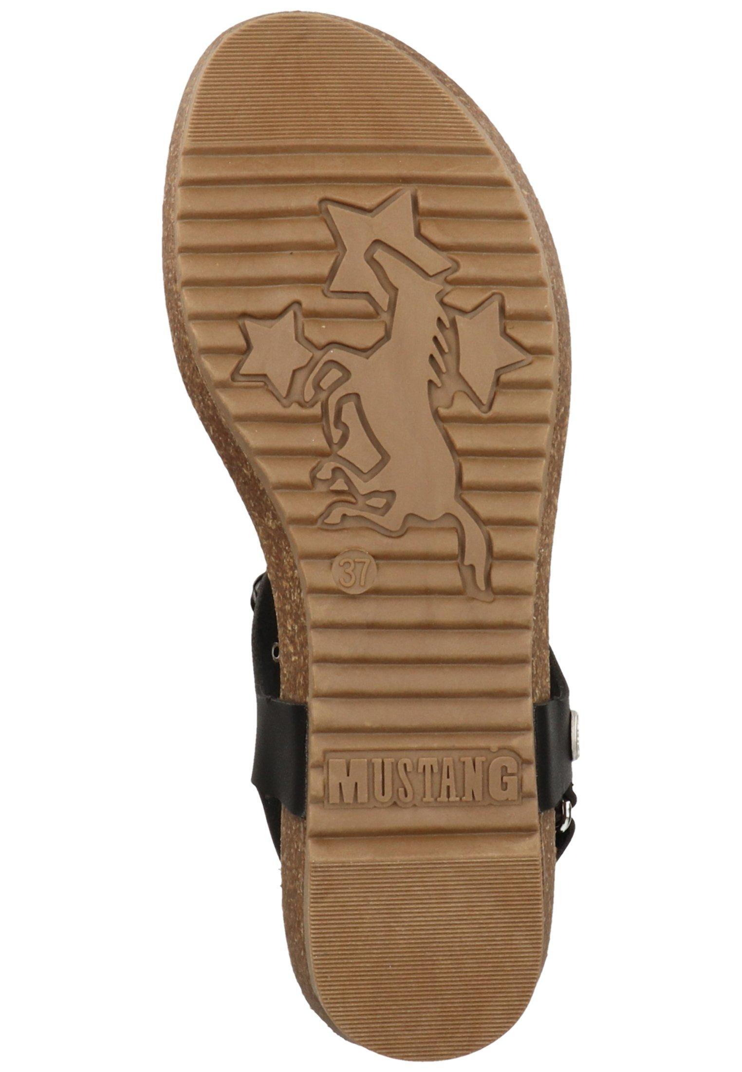 Mustang Sandalen - Sandaler M/ Tåsplit Schwarz 9
