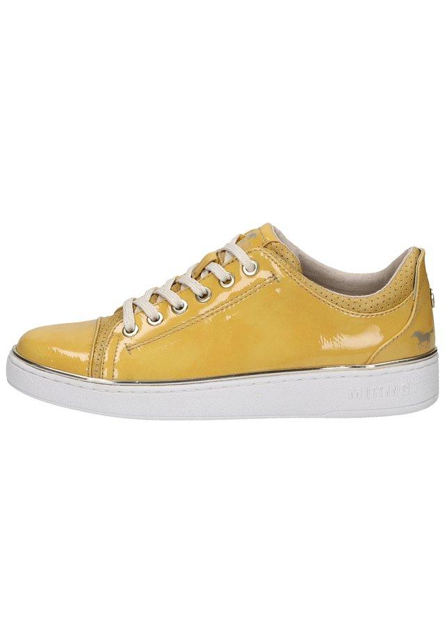 Sneakers - gelb 6