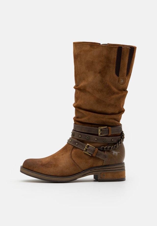 Cowboystøvler - kastanie