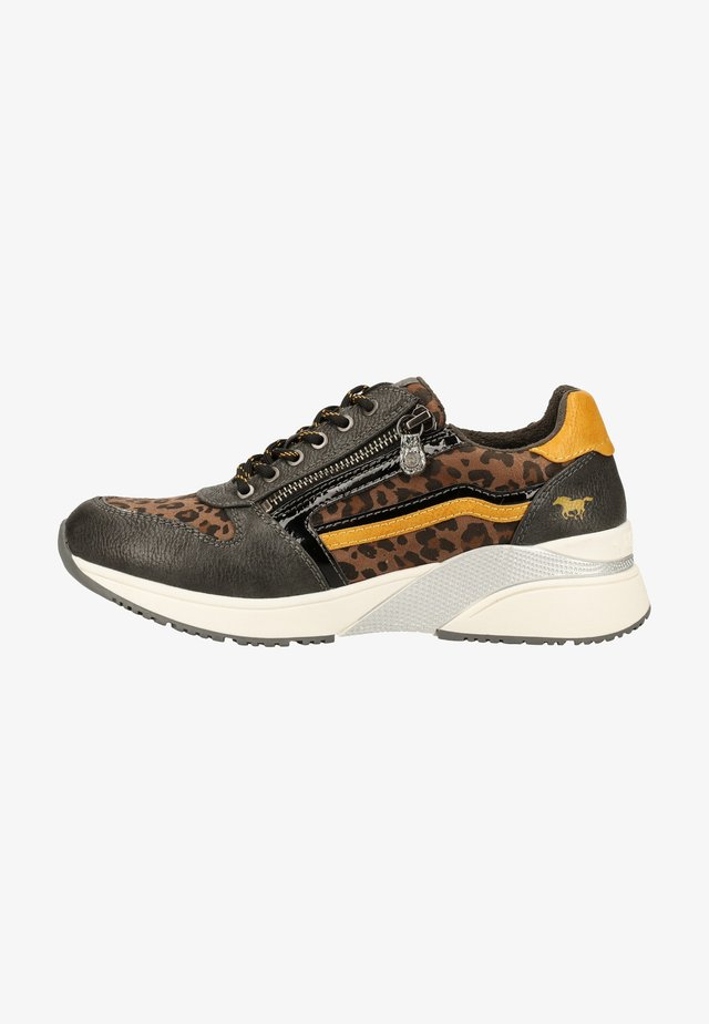 Sneakers laag - graphit/leo