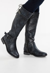 Mustang - Boots - navy - 0