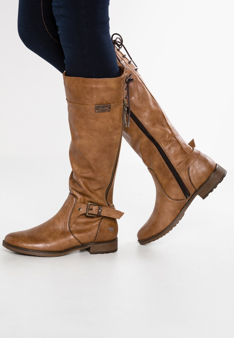 Mustang - Boots - kastanie