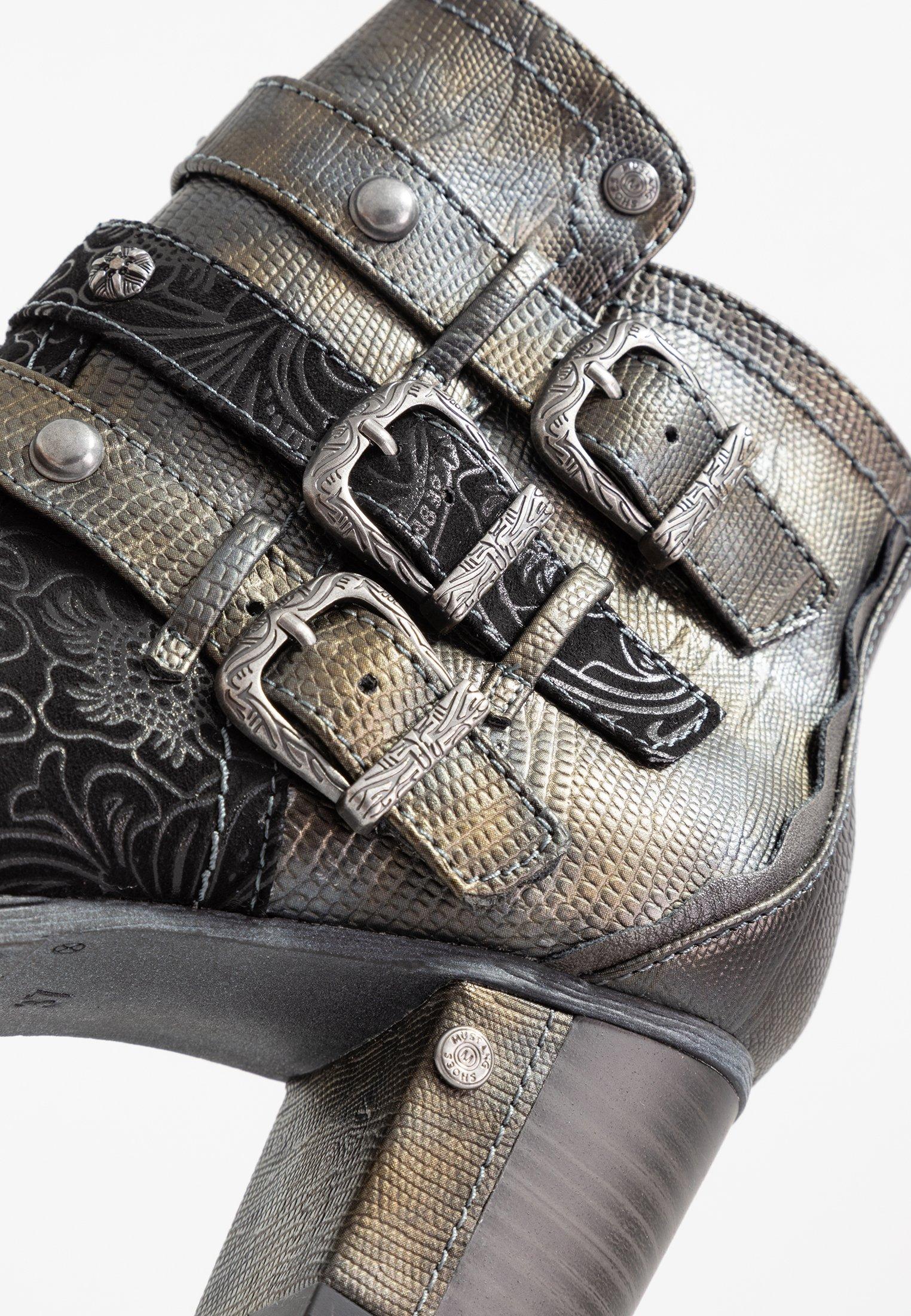 TalonsSchwarz À Boots Mustang À Mustang Boots DHE2W9IY