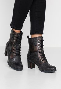Mustang - Veterboots - anthracite - 0