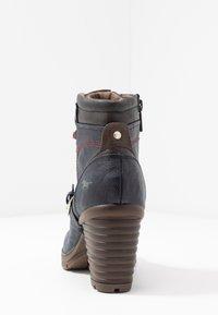 Mustang - Boots à talons - navy - 5