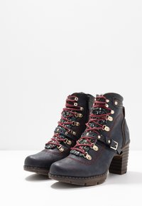 Mustang - Boots à talons - navy - 4