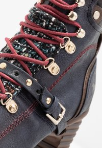 Mustang - Boots à talons - navy - 2