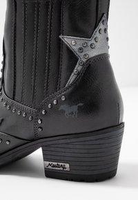Mustang - Kovbojské/motorkářské boty - graphit - 2
