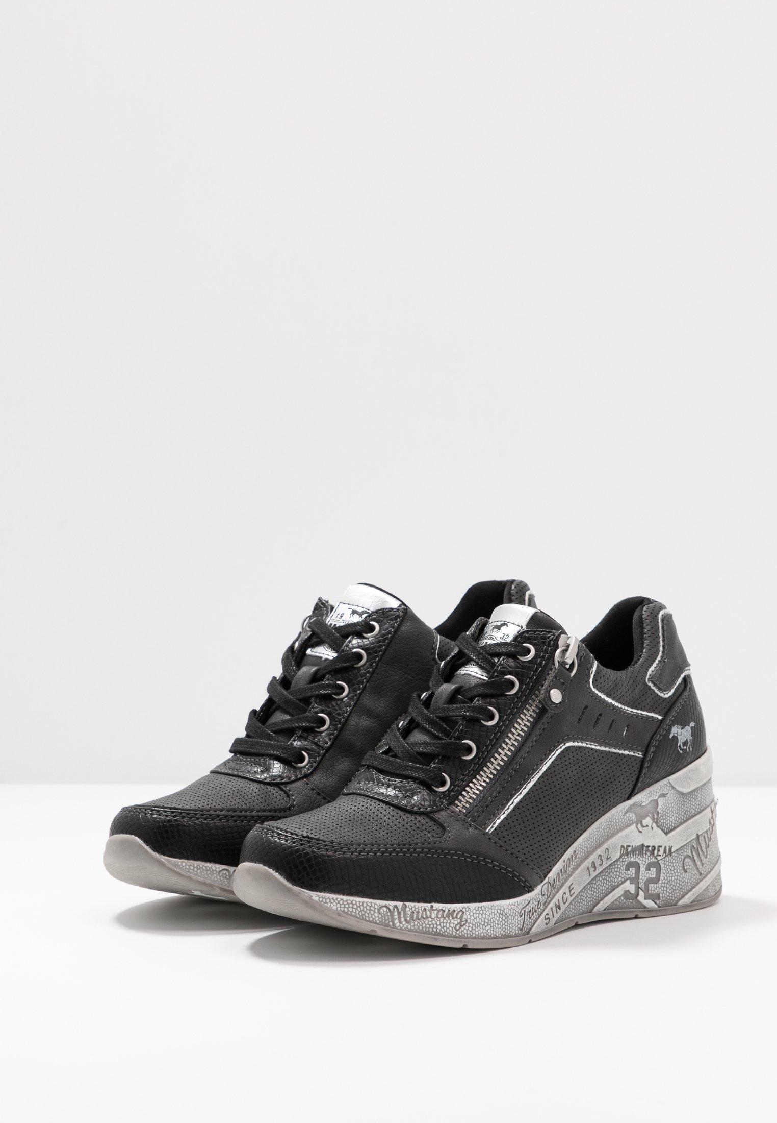 Mustang Sneakersy niskie - schwarz