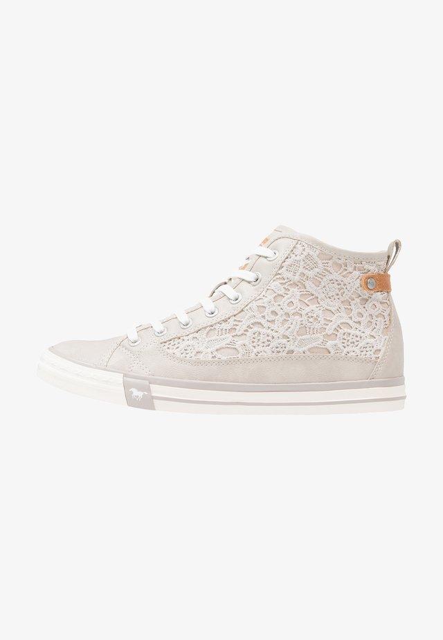 Sneakers high - light grey