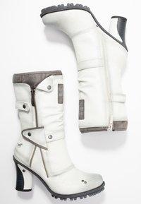Mustang - Laarzen met hoge hak - ice - 3