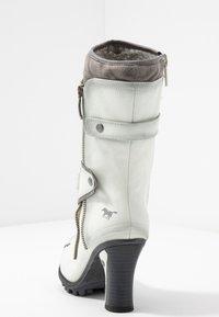 Mustang - Laarzen met hoge hak - ice - 5