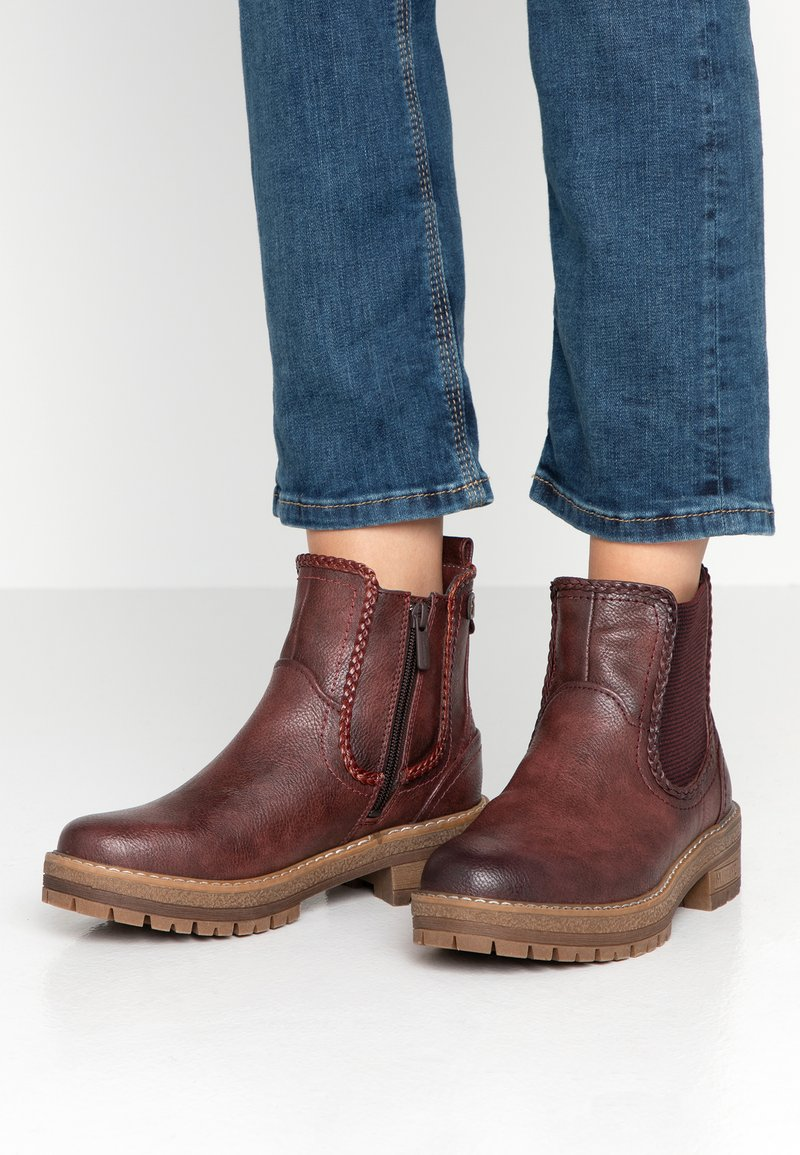 Mustang - Bottines - bordeaux