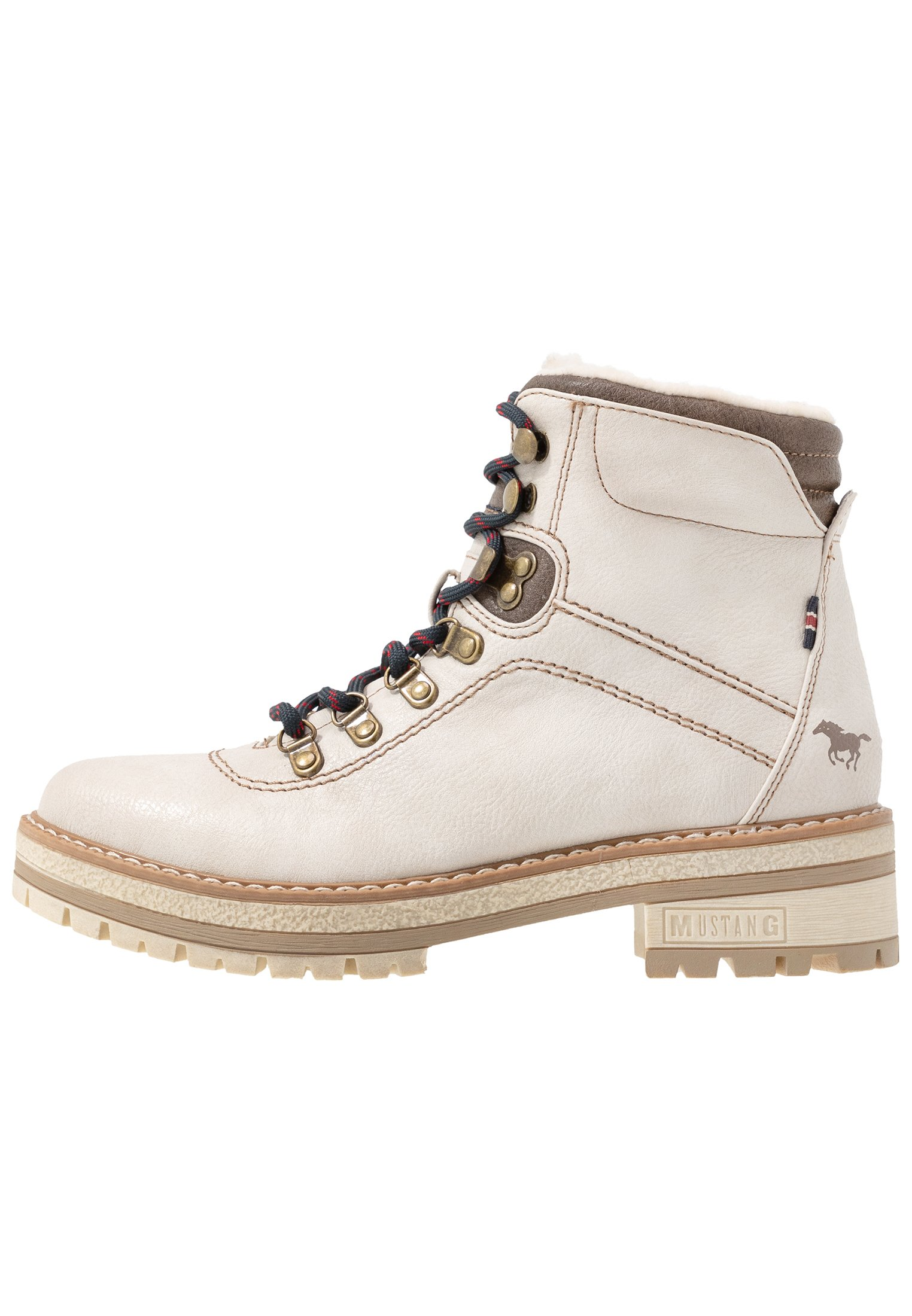 Mustang Ankelboots - Ivory