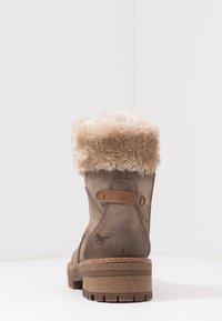 Mustang - Kotníkové boty na platformě - taupe - 5