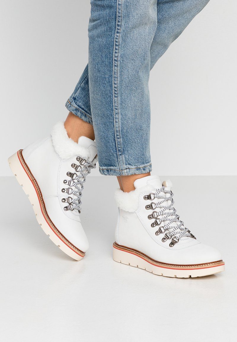 Mustang - Ankle boots - offwhite