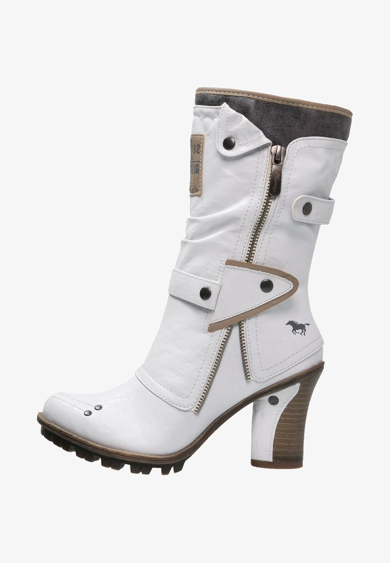 Mustang - Winter boots - offwhite
