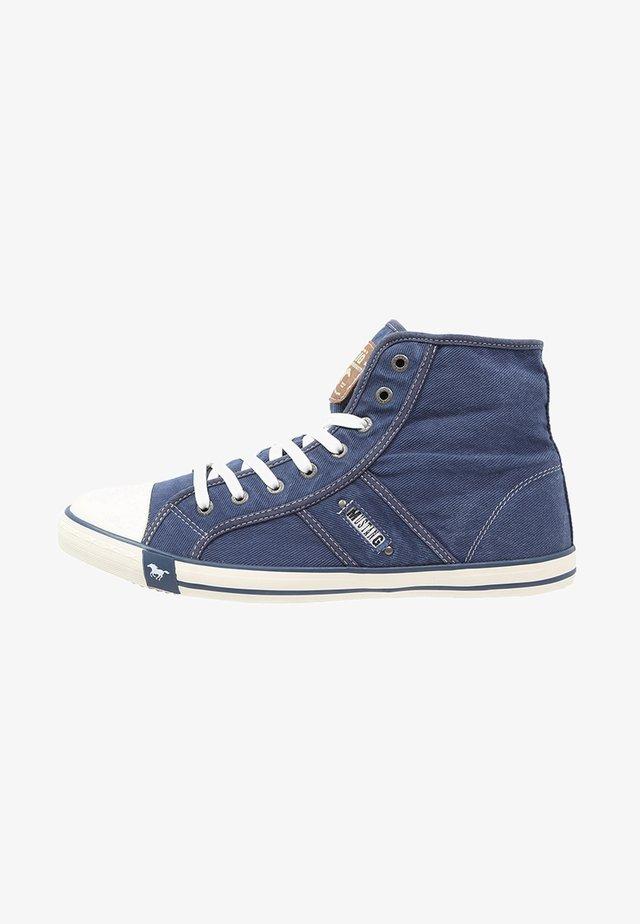 Vysoké tenisky - jeansblau
