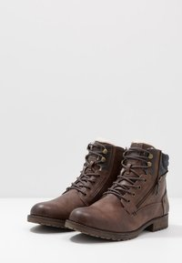 Mustang - Lace-up ankle boots - mittelbraun - 2