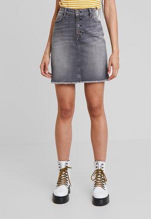 LAURA SKIRT - Spódnica jeansowa - dark