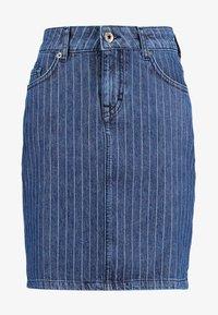 Mustang - LAURA SKIRT - Spódnica jeansowa - dark - 3