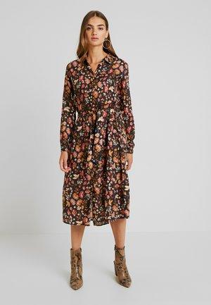 FANCY - Košilové šaty - black/multi-coloured