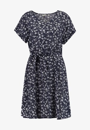 FELI V  - Day dress - dark blue/ white