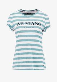 Mustang - ALEXIA STRIPE - Camiseta estampada - brighton - 3