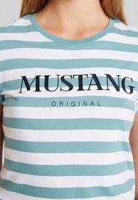 Mustang - ALEXIA STRIPE - Camiseta estampada - brighton - 4