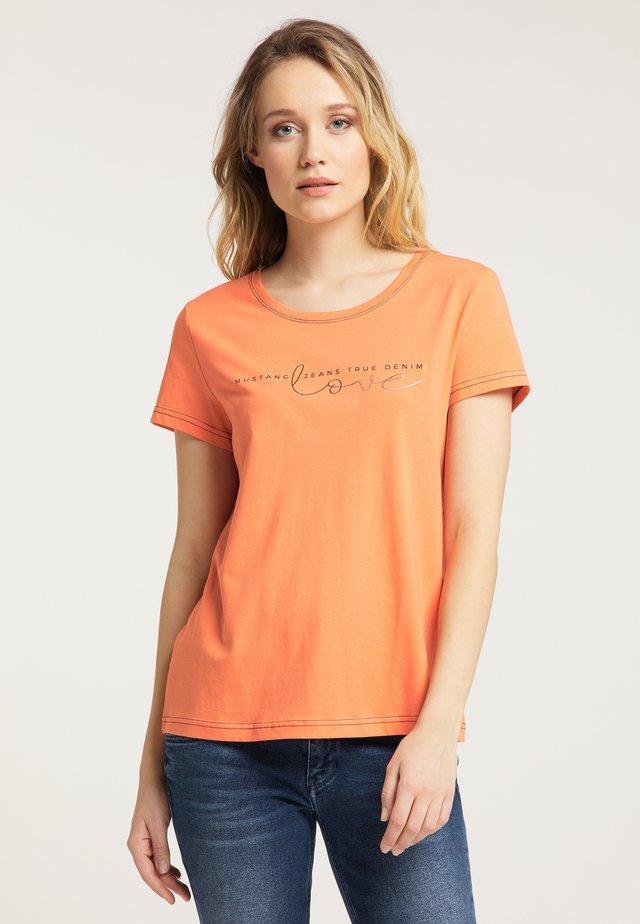 ALINA - T-Shirt print - rosa