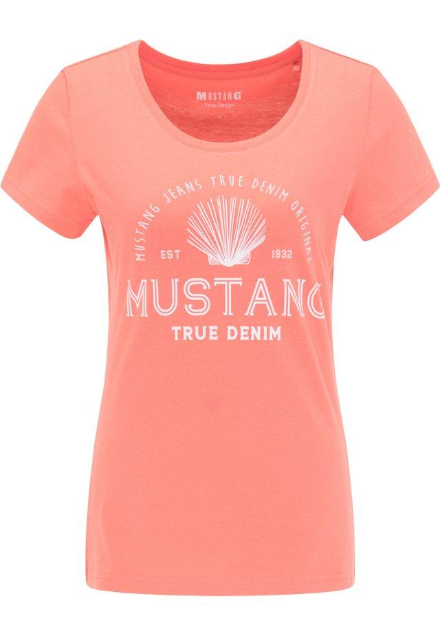 ALEXIA C PRINT - T-Shirt print - rosa