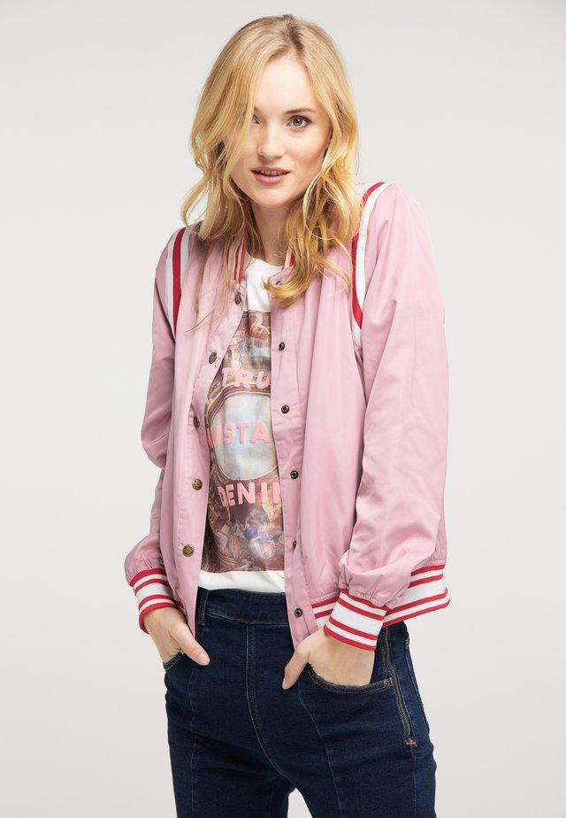Bomberjacke - rosa