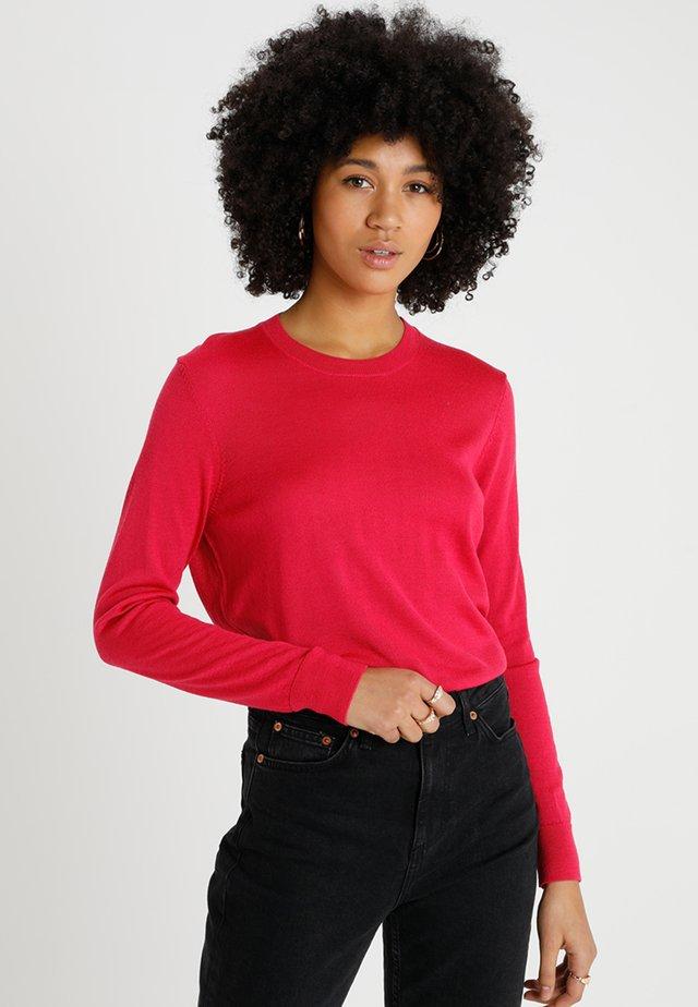 CREW NECK JUMPER - Strickpullover - pink