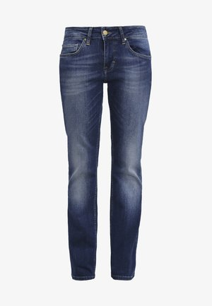 SISSY STRAIGHT - Jeans straight leg - dark scratched used