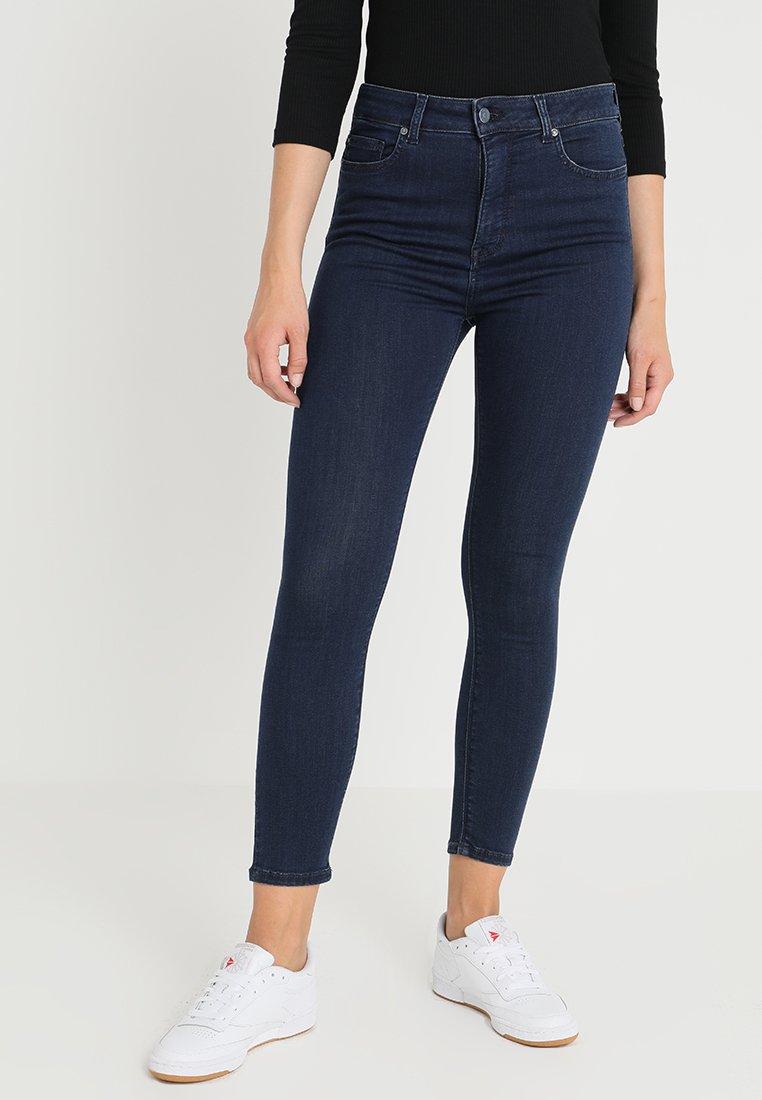 Mustang - PERFECT SHAPE - Jeans Skinny Fit - dark-blue denim