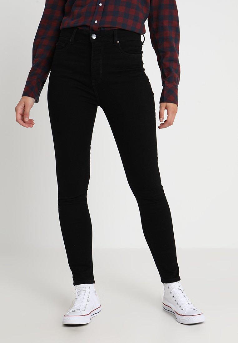 Mustang - PERFECT SHAPE - Jeans Skinny Fit - black denim