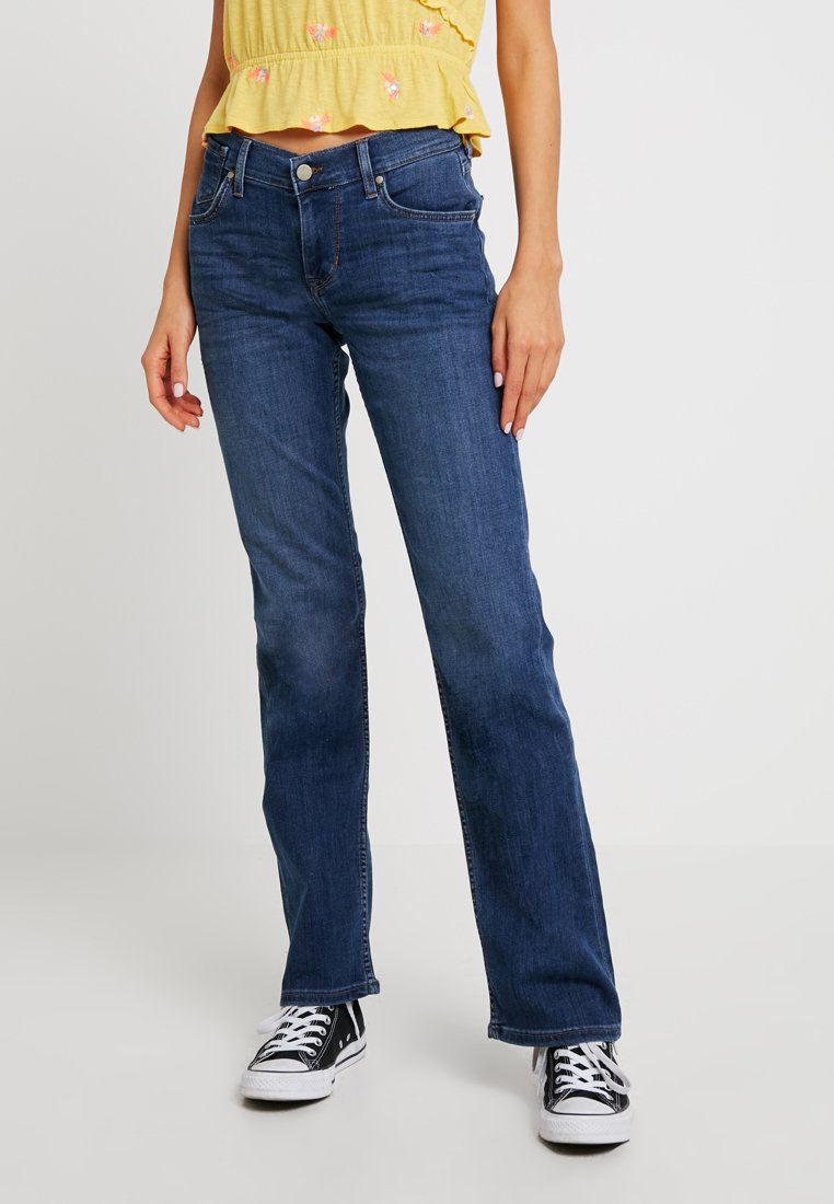 Mustang - GIRLS OREGON - Jeans a sigaretta - denim blue/medium