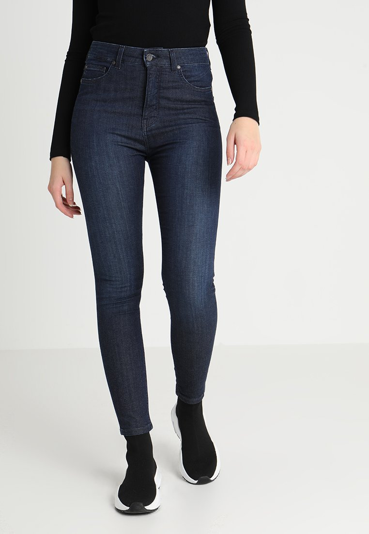 Mustang - PERFECT SHAPE - Jeans Skinny Fit - denim blue