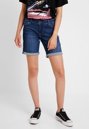 BERMUDA - Jeans Shorts - dark blue denim