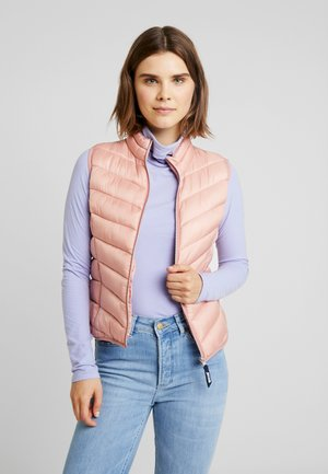 HOLLY LIGHT VEST - Waistcoat - rose tan
