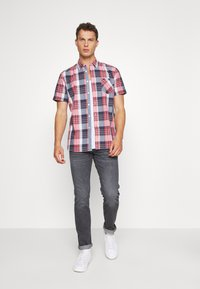 Mustang - COLLIN BASIC CHECK - Chemise - navy - 1