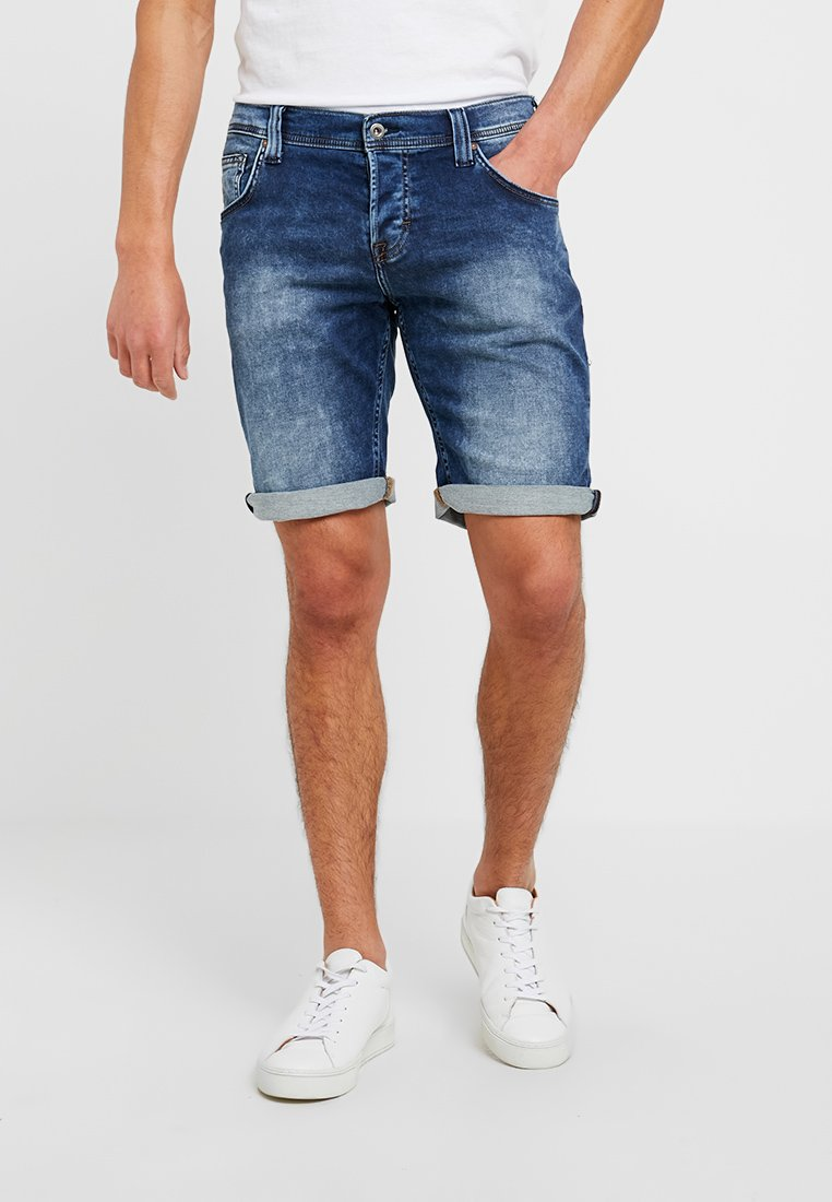 Mustang - CHICAGO - Jeans Shorts - denim blue