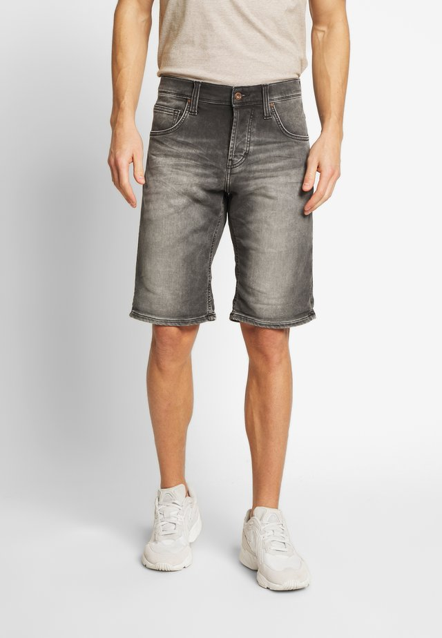 CHICAGO - Jeansshorts - denim black