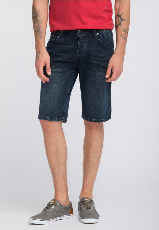 MICHIGAN - Denim shorts - blau