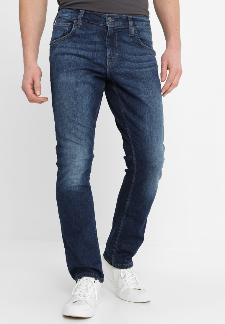 Mustang - CHICAGO - Jeans Straight Leg - dark scratched used