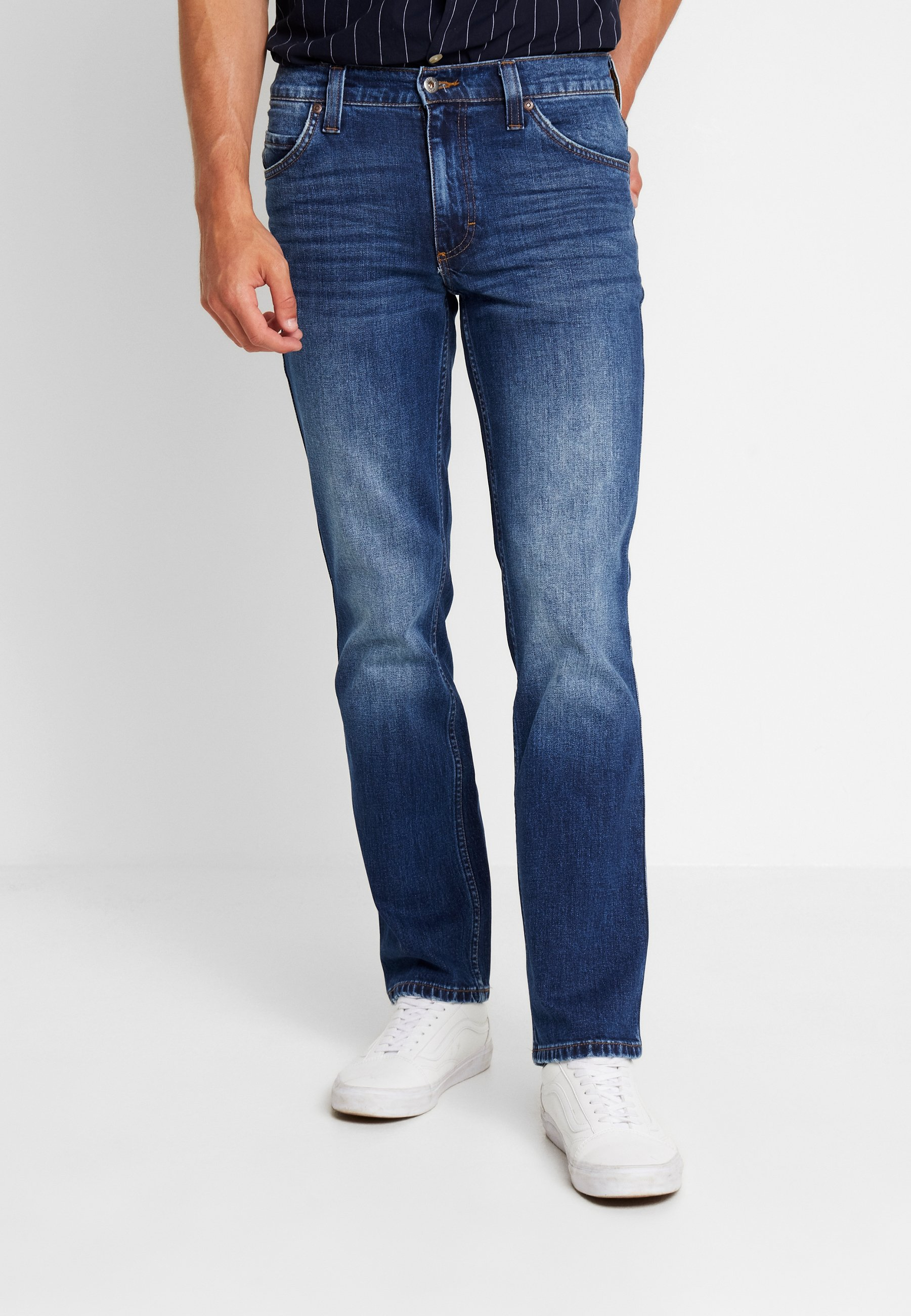 blue TramperJeans A Dark Sigaretta Denim Mustang oeCdxB