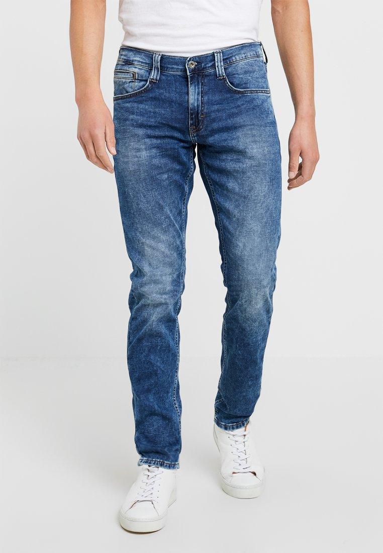 Mustang - OREGON TAPERER  - Jeans Tapered Fit - denim blue